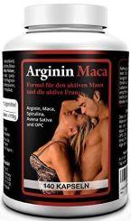 L-Arginin + Maca Gold von Biomenta